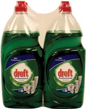 Dreft handafwasmiddel classic 1 L, pak van 2 stuks
