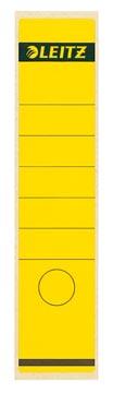 Leitz rugetiketten ft 6,1 x 28,5 cm, geel