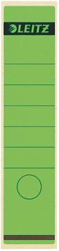 Leitz rugetiketten ft 6,1 x 28,5 cm, groen
