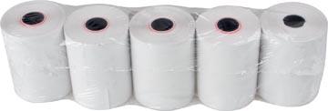 Thermorol BPA-vrij, ft 57 mm, diameter +- 47 mm, asgat 12 mm, lengte 25 meter