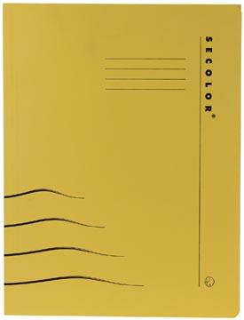 Jalema Secolor Clipmap voor ft A4 (31 x 25/23 cm), geel