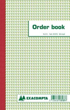 Exacompta orderbook, ft 21 x 13,6 cm, tripli (50 x 3 vel)