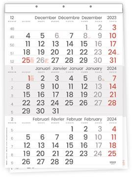 Driemaandskalender Compact, 2022