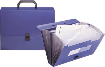 Beautone voorordner, ft A4, blauw, 26 vakken