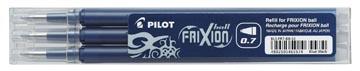 Pilot vulling voor Frixion Ball en Frixion ball clicker zwart-blauw, doosje met 3 stuks