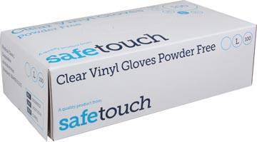 Handschoenen uit vinyl, large, wit/transparant, doos van 100 stuks