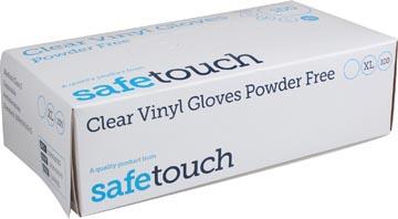 Handschoenen uit vinyl, extra large, wit/transparant, doos van 100 stuks
