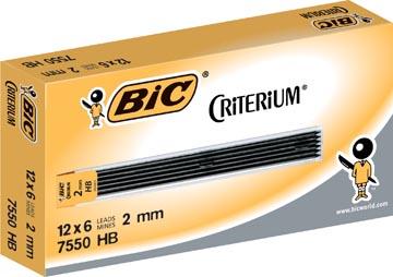 Conté criterium Gilbert mines etui van 6 potloodstiften van 2 mm