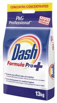 Dash waspoeder Formula Pro, voor witte was, 130 wasbeurten, zak van 13 kg