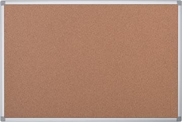 Pergamy kurkbord met aluminium frame ft 60 x 90 cm
