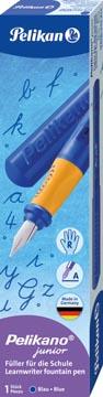 Pelikan Vulpen Pelikano Junior voor rechtshandigen, blauw