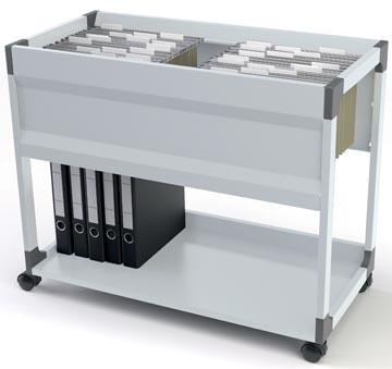 Durable Hangmappenwagen System 100 Multi met legplank