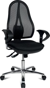 Topstar bureaustoel Open Point SY Deluxe, zwart
