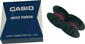 Casio inktlint RB-02, zwart/rood
